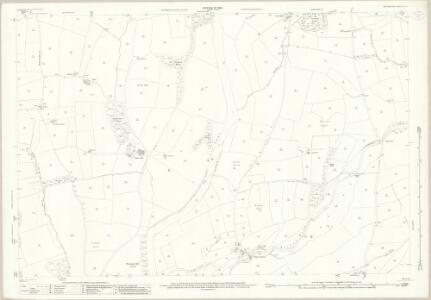 Westmorland XLIII.16 (includes: Barbon; Kirkby Lonsdale; Mansergh; Middleton) - 25 Inch Map