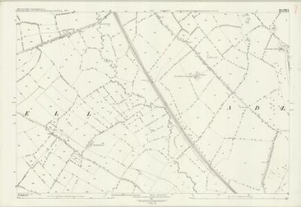 Gloucestershire XXII.11 (includes: Adlestrop; Broadwell; Evenlode; Oddington) - 25 Inch Map
