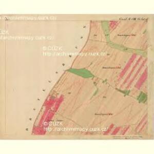 Nikolsburg - m1785-1-016 - Kaiserpflichtexemplar der Landkarten des stabilen Katasters