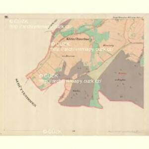 Klein Chmelna - c4368-1-003 - Kaiserpflichtexemplar der Landkarten des stabilen Katasters
