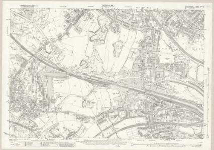 Staffordshire LXVIII.14 (includes: Oldbury; Smethwick; West Bromwich) - 25 Inch Map