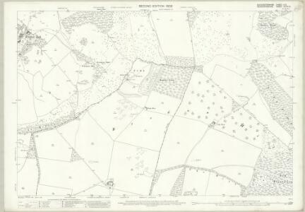 Gloucestershire V.12 (includes: Bredon; Bredons Norton; Eckington; Elmley Castle; Great Comberton; Kemerton; Overbury) - 25 Inch Map