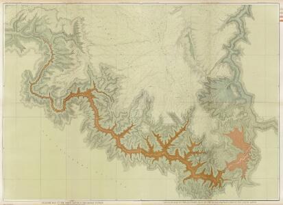 Composite: Geologic map, S. pt. Kaibab Plateau. I-IV.