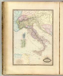 Italie en 1859.