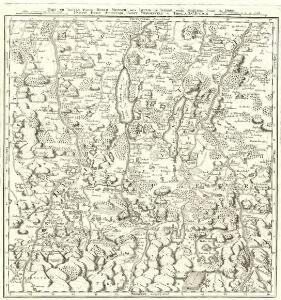 Describit Partem Regim: Monach: intra Lycum et Isaram versus Merid: sitam Secund: ej; Præf: Partic. Episc: Augustani, Comit: Werdenfels et Tirol