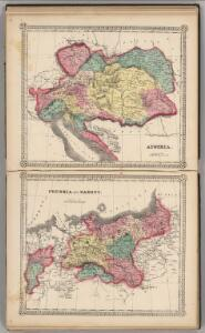 Austria.  Prussia and Saxony.