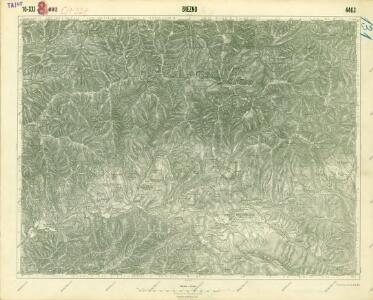 III. vojenské mapování 4463