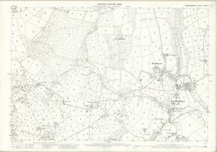 Caernarvonshire XXXIX.14 (includes: Botwnnog) - 25 Inch Map