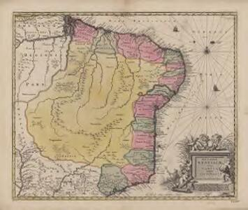 Nova et accurata Brasiliae totius tabula