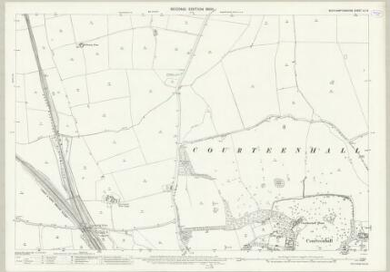 Northamptonshire LII.9 (includes: Collingtree; Courteenhall; Milton Malsor; Roade) - 25 Inch Map
