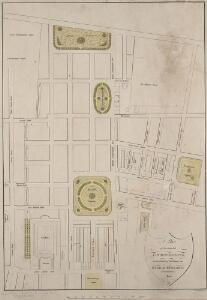 A Plan of the intended IMPROVEMENTS, on the Estate of his Grace the Duke of BEDFORD. 1800 16