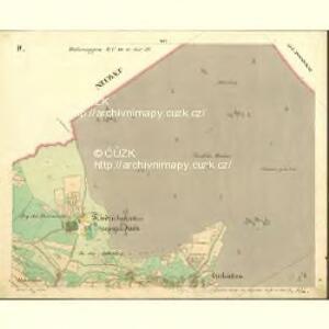 Wassersuppen - c5024-1-002 - Kaiserpflichtexemplar der Landkarten des stabilen Katasters