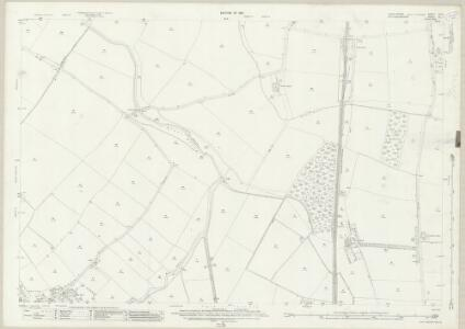 Lincolnshire CIII.7 (includes: Cotham; Elston; Flawborough; Long Bennington; Shelton; Sibthorpe; Staunton) - 25 Inch Map