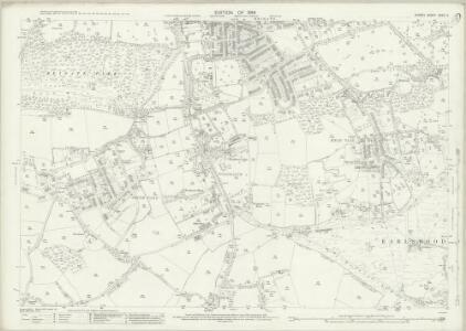 Surrey XXXIV.3 (includes: Reigate) - 25 Inch Map
