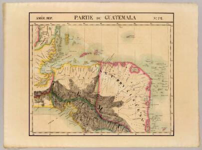 Partie du Guatemala. Amer. Sep. 72.