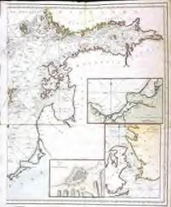 Carte réduite de la mer Baltique, 2