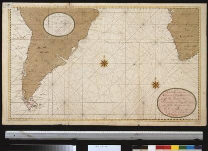 Een gedeelte van de kust van Gunea tot C. Bona Esperance, de cust van Brasielia van Parnambuco tot C. de Hoorn, als meede de kusten van Chili en Peru seer dienstig om te zijlen van C. B. Esperance tot de Straet van Magalanus