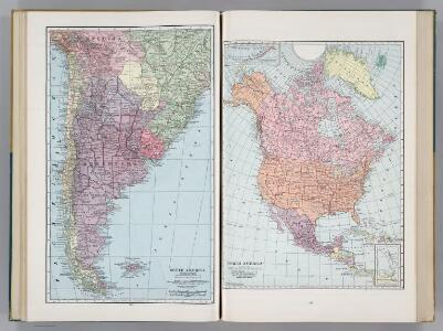 South America (Southern Part).  North America.