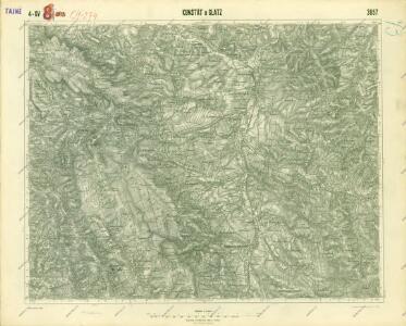 III. vojenské mapování 3857