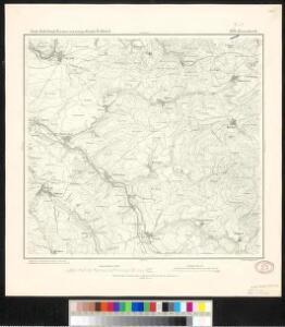 Meßtischblatt 3274 : Eisenbach, 1877