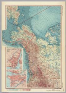Canada - West.  Pergamon World Atlas.