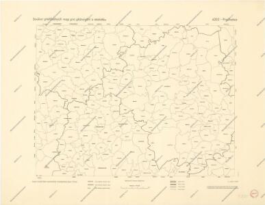 Soubor přehledných map pro plánování a statistiku: 4352 – Prachatice