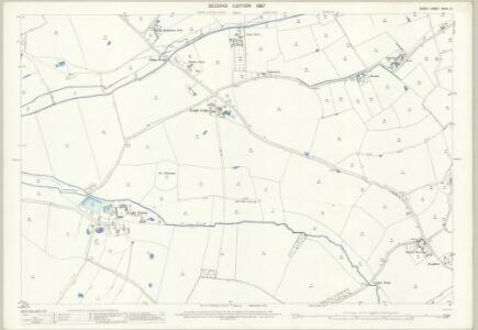 Essex (1st Ed/Rev 1862-96) XXXIII.8 (includes: Felsted; Great and Little Leighs) - 25 Inch Map