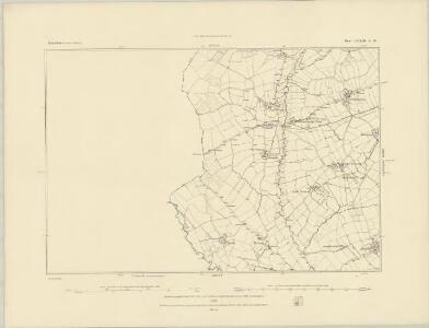 Derbyshire XXXIX.SE - OS Six-Inch Map