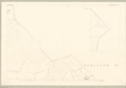 Lanark, Sheet XVII.15 (with inset XVII.11) (Glasford) - OS 25 Inch map