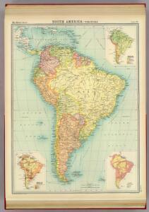 South America - political.