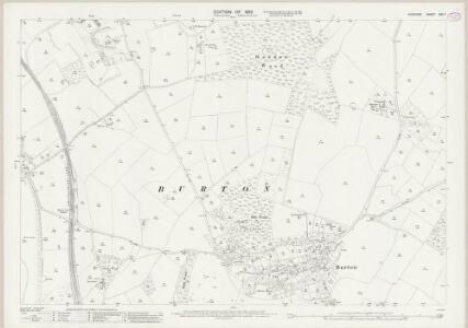 Cheshire XXX.7 (includes: Burton; Ness) - 25 Inch Map