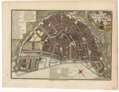 A plan of the city of Amsterdam