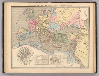 L'Europe au Temps des Croisades.