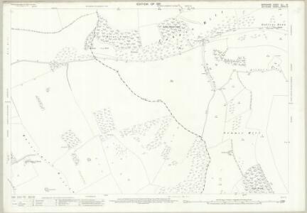 Wiltshire XXXVII.16 (includes: Buttermere; Combe; Ham; Inkpen) - 25 Inch Map
