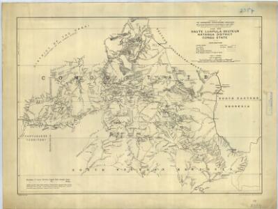 Haute Luapula secteur, Katanga district, Congo State (1906)