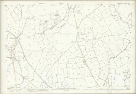 Somerset LIV.1 (includes: Doulting; Evercreech) - 25 Inch Map