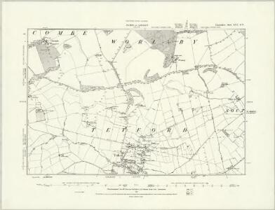 Lincolnshire LVIII.NW - OS Six-Inch Map