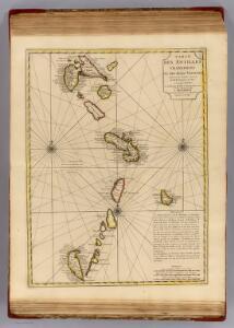 Antilles Francoises, isles voisines.