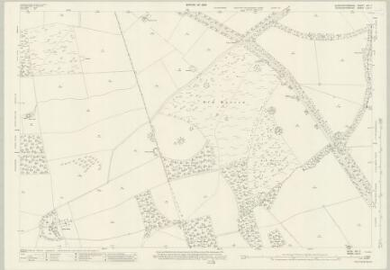 Gloucestershire XIV.7 (includes: Blockley; Broadway; Chipping Campden) - 25 Inch Map