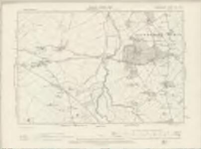 Denbighshire XIV.NW - OS Six-Inch Map