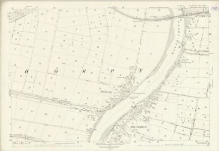 Lincolnshire XVIII.5 (includes: Althorpe; Burringham; Gunness; Keadby) - 25 Inch Map