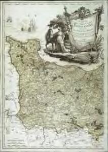 Carte de la province de Normandie, 1