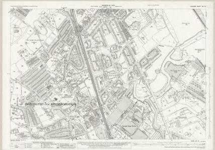 Cheshire XIII.16 (includes: Bebington and Bromborough) - 25 Inch Map