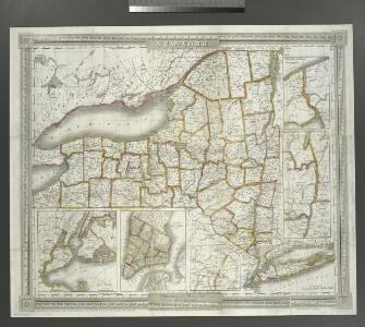 New-York / by David H. Burr; engraved & printed by S. Stiles & Co., N. York.