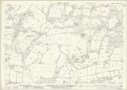 Sussex XXV.10 (includes: Cowfold) - 25 Inch Map