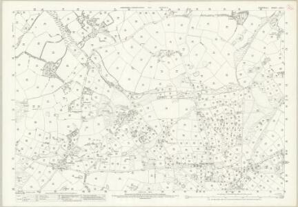 Cornwall LXIX.7 (includes: Crowan; Gwinear Gwithian; Hayle) - 25 Inch Map