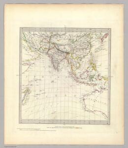 (World, gnomonic proj. IV. Asia)