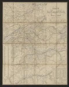 Carte des Cantons Bern