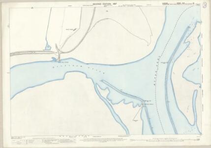 Durham XLV.12 (includes: Billingham; Greatham; Redcar; Seaton) - 25 Inch Map