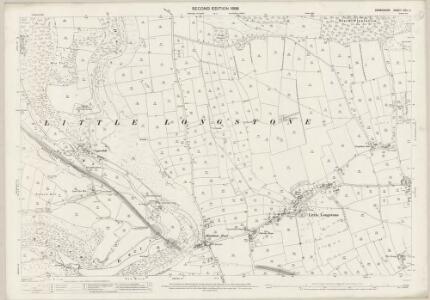 Derbyshire XXIII.2 (includes: Ashford; Brushfield; Great Longstone; Little Longstone; Litton) - 25 Inch Map